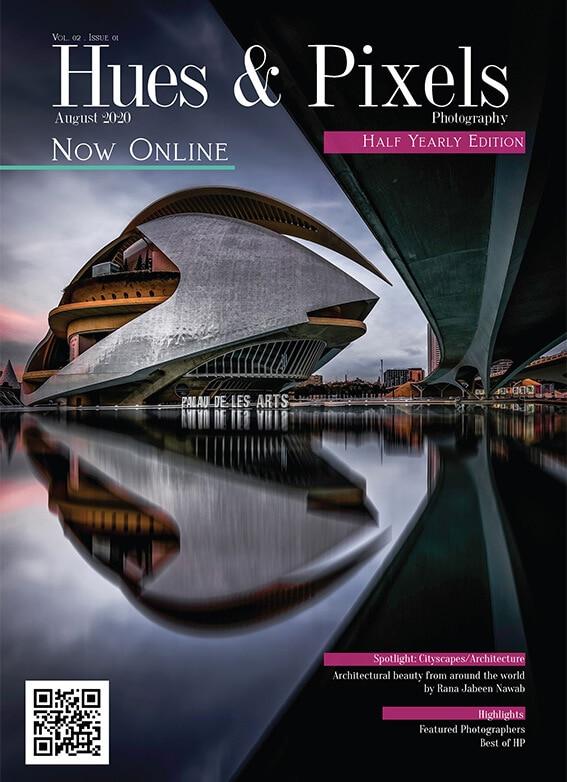 Sal Virji Published images in Hues & Pixels Magazine long exposure photos